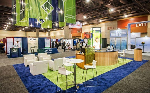 Used Trade Show Booth : Trade show displays rental booths used exhibits floor easels in