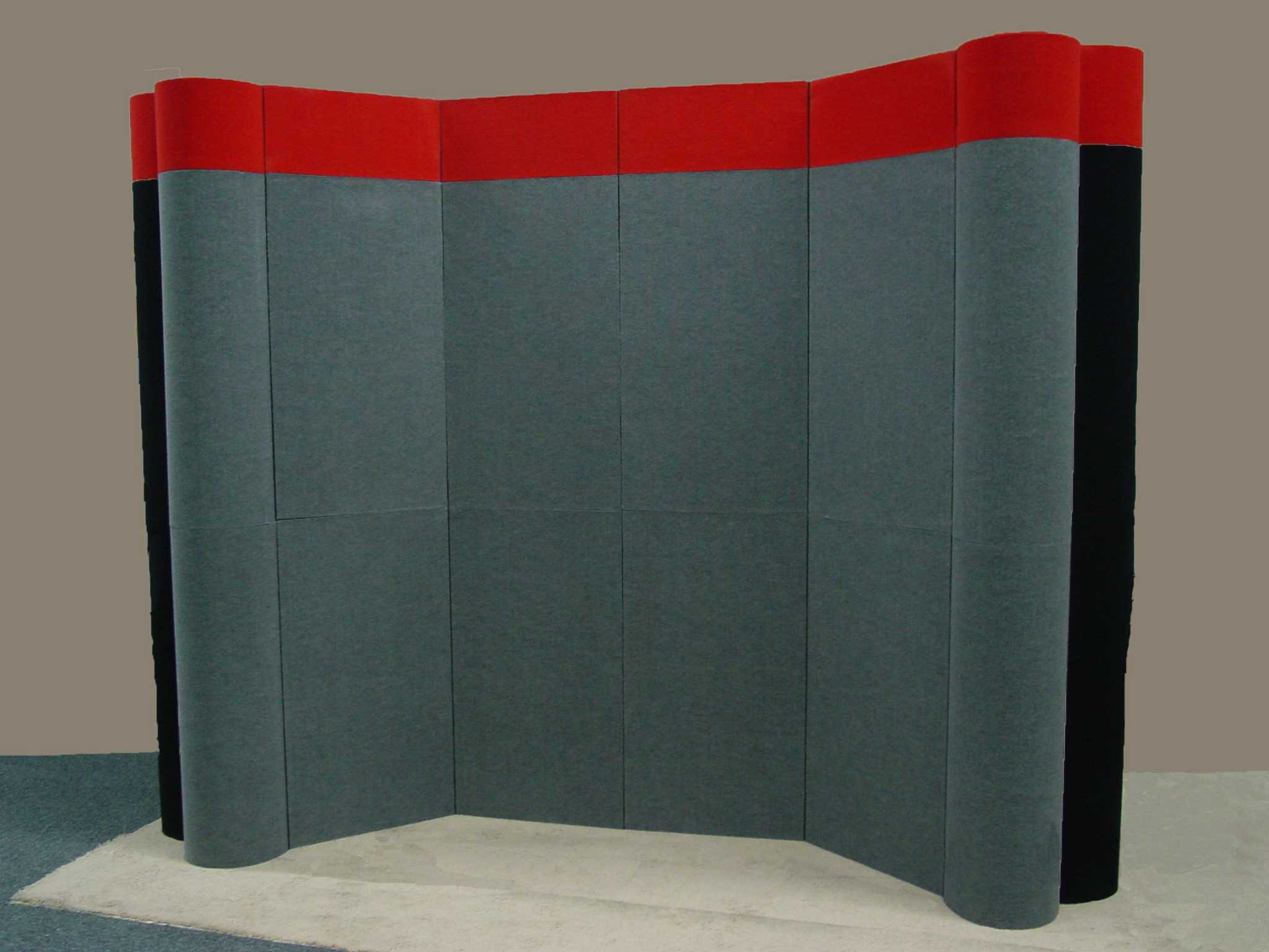 Pre-owned exhibits: Grey-Black-Red Nimlok Nimlink portable exhibit