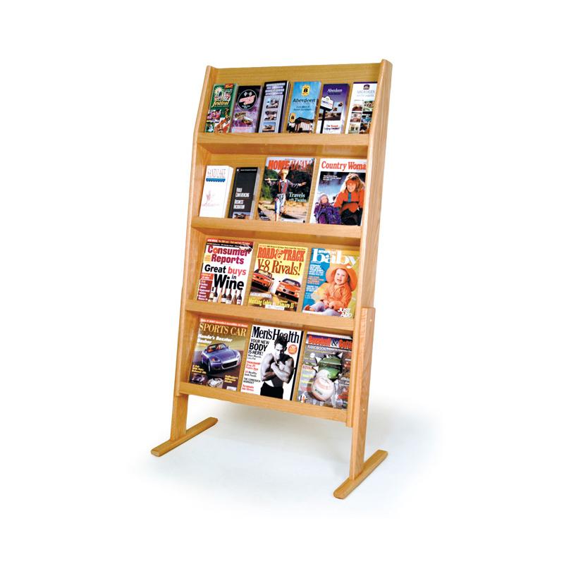 literature floor display