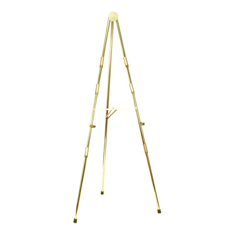 brass 6-foot easel